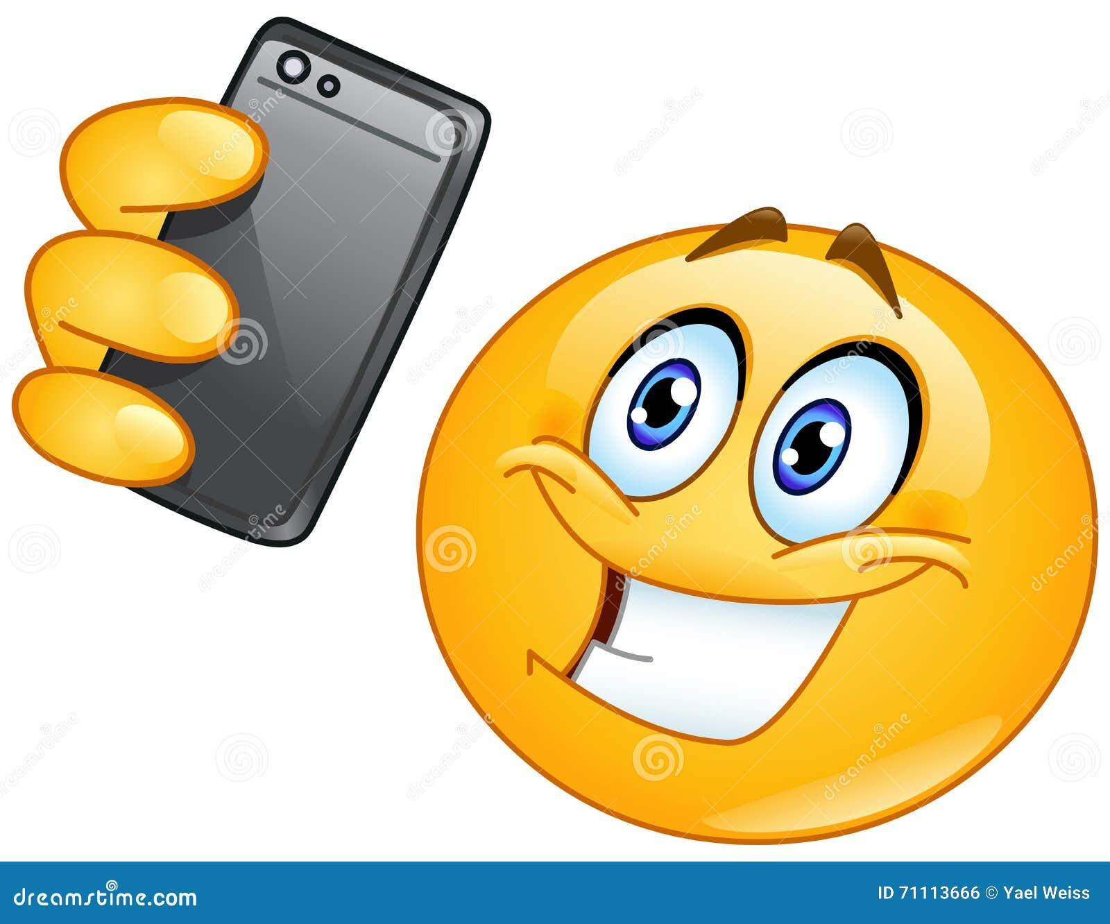 Emoticon de Selfie