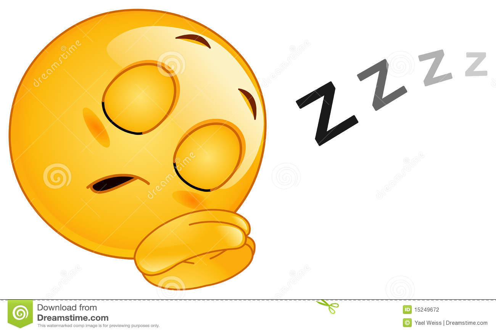 Emoticon do sono