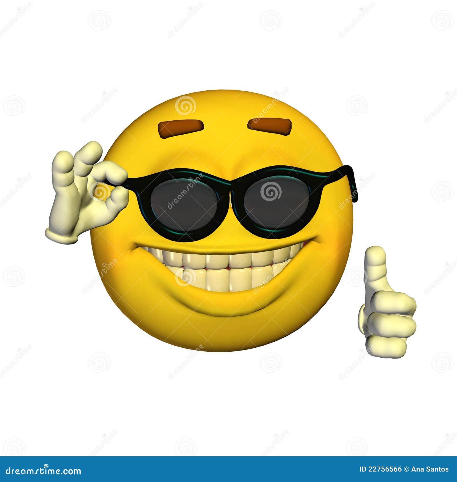 De Stock Gafas Emoticon Email Sol IlustraciónIlustración reBdCxoQW