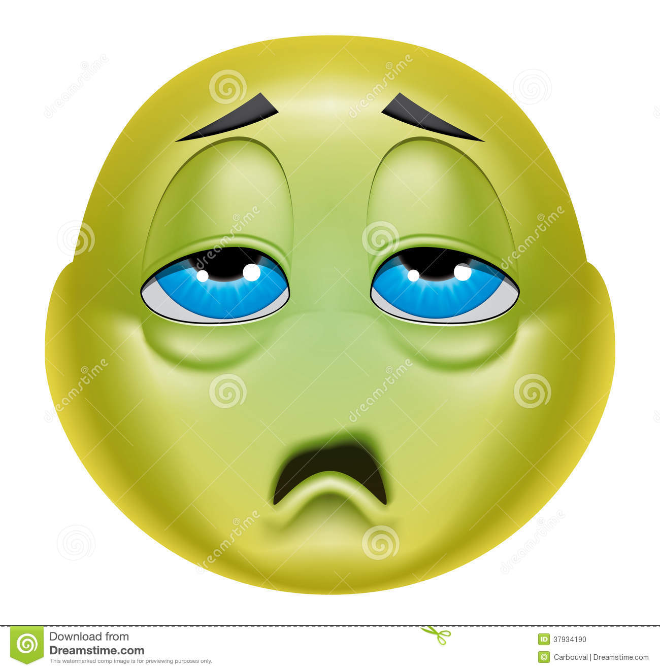 Image result for emoji sick, nauseated