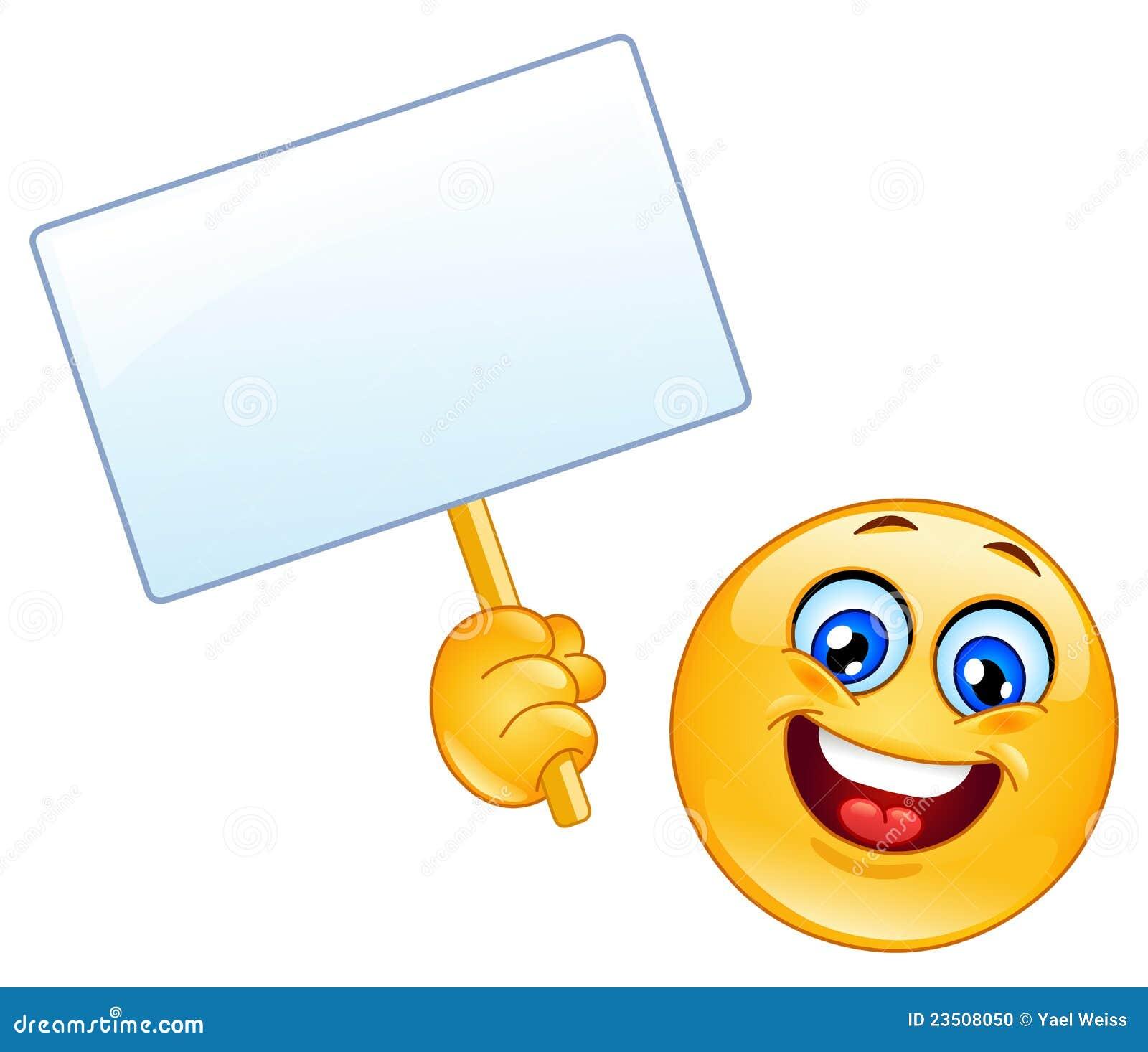 Emoticon mit Zeichen