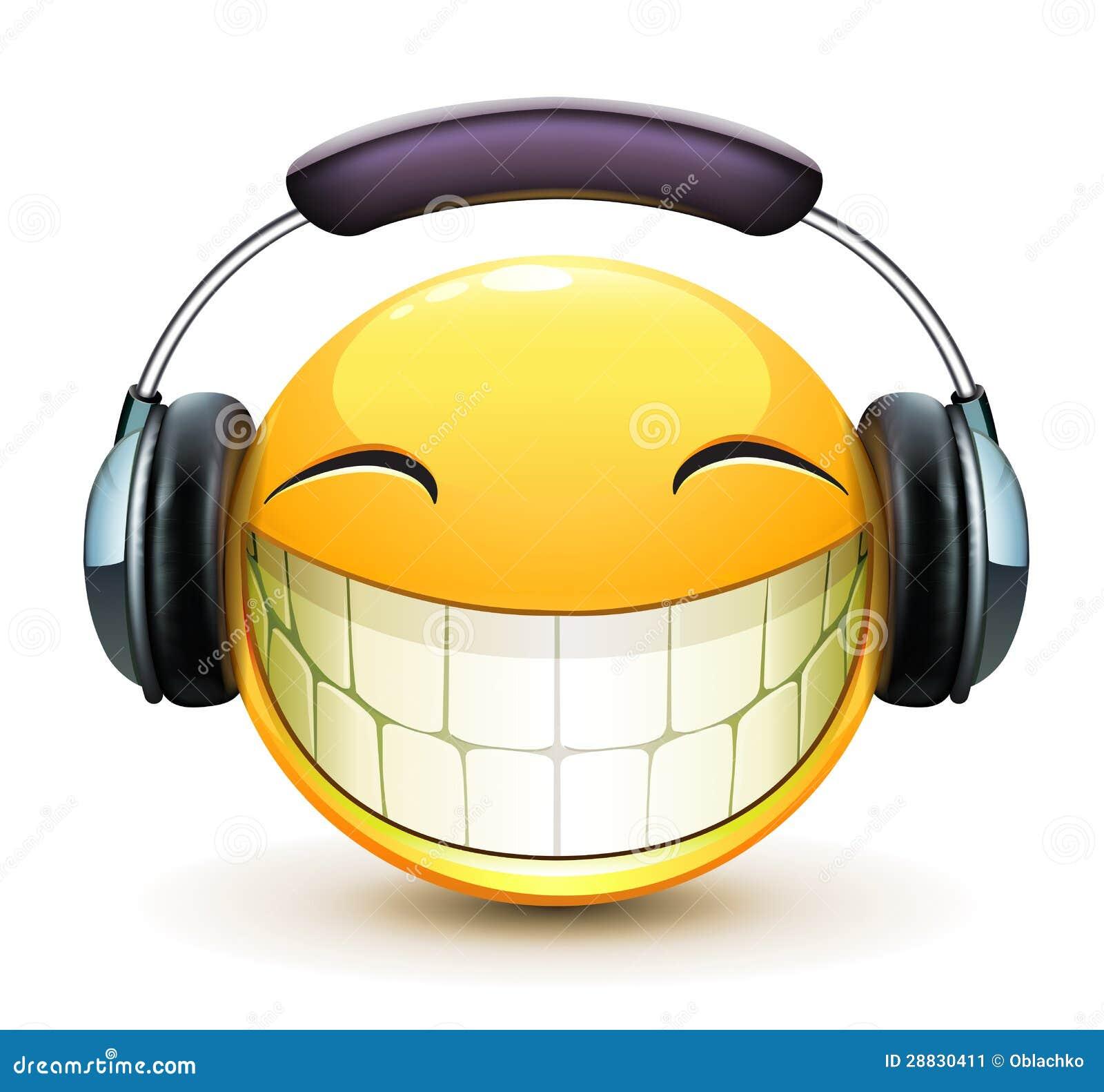 Emoticon musical