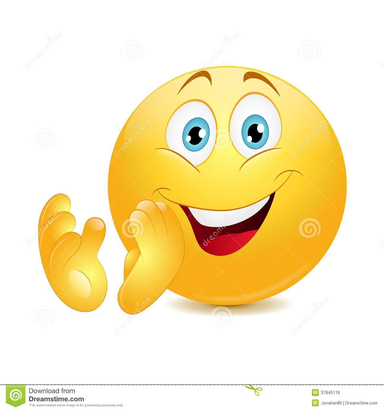 Emoticon Showing Thumb Up Royalty Free Stock Image - Image ...