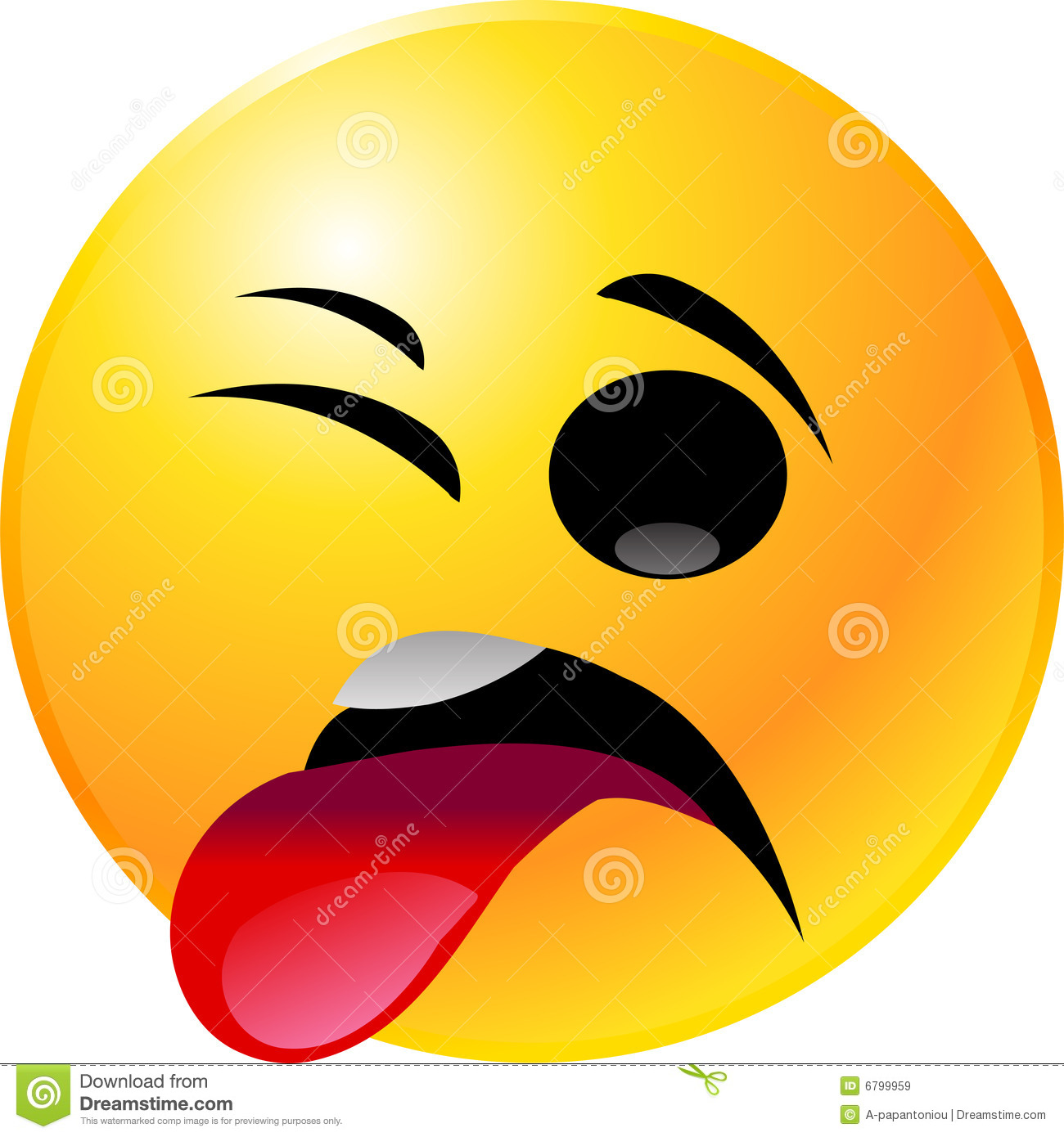 Emoticon Smiley Face Royalty Free Stock Images - Image: 6799959
