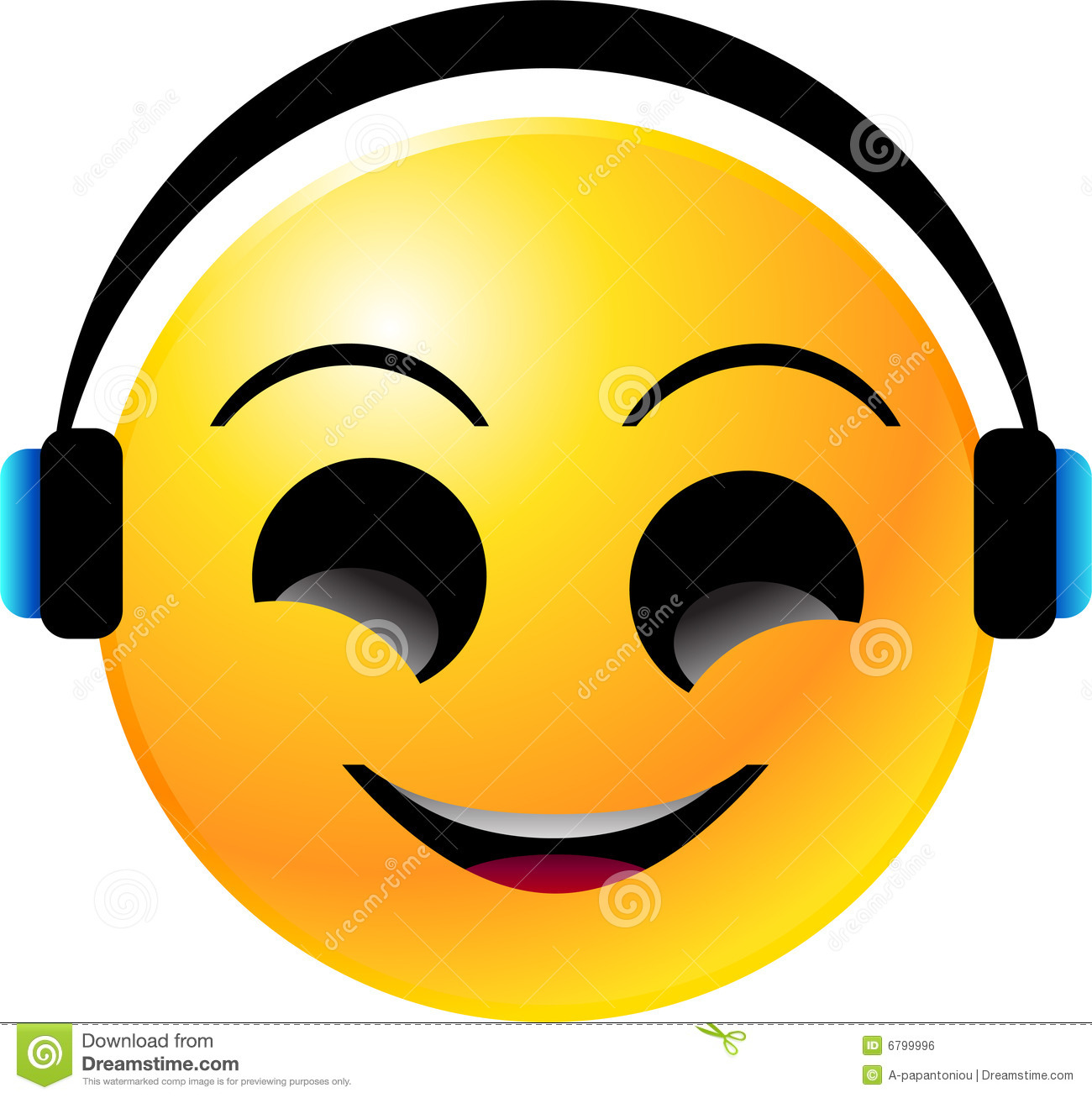 Emoticon Smiley Face Royalty Free Stock Image - Image: 6799996