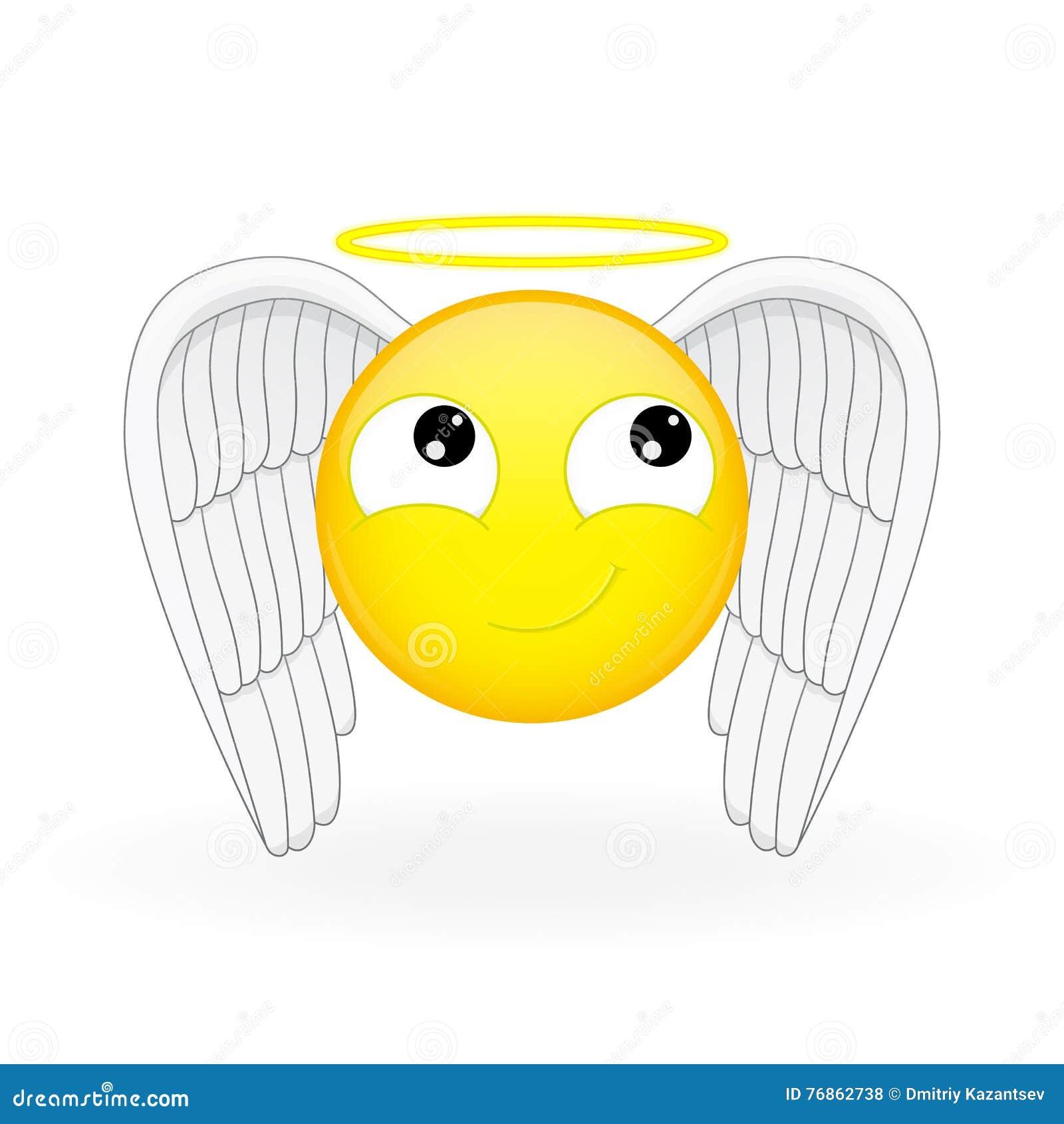 how to draw an angel emoji