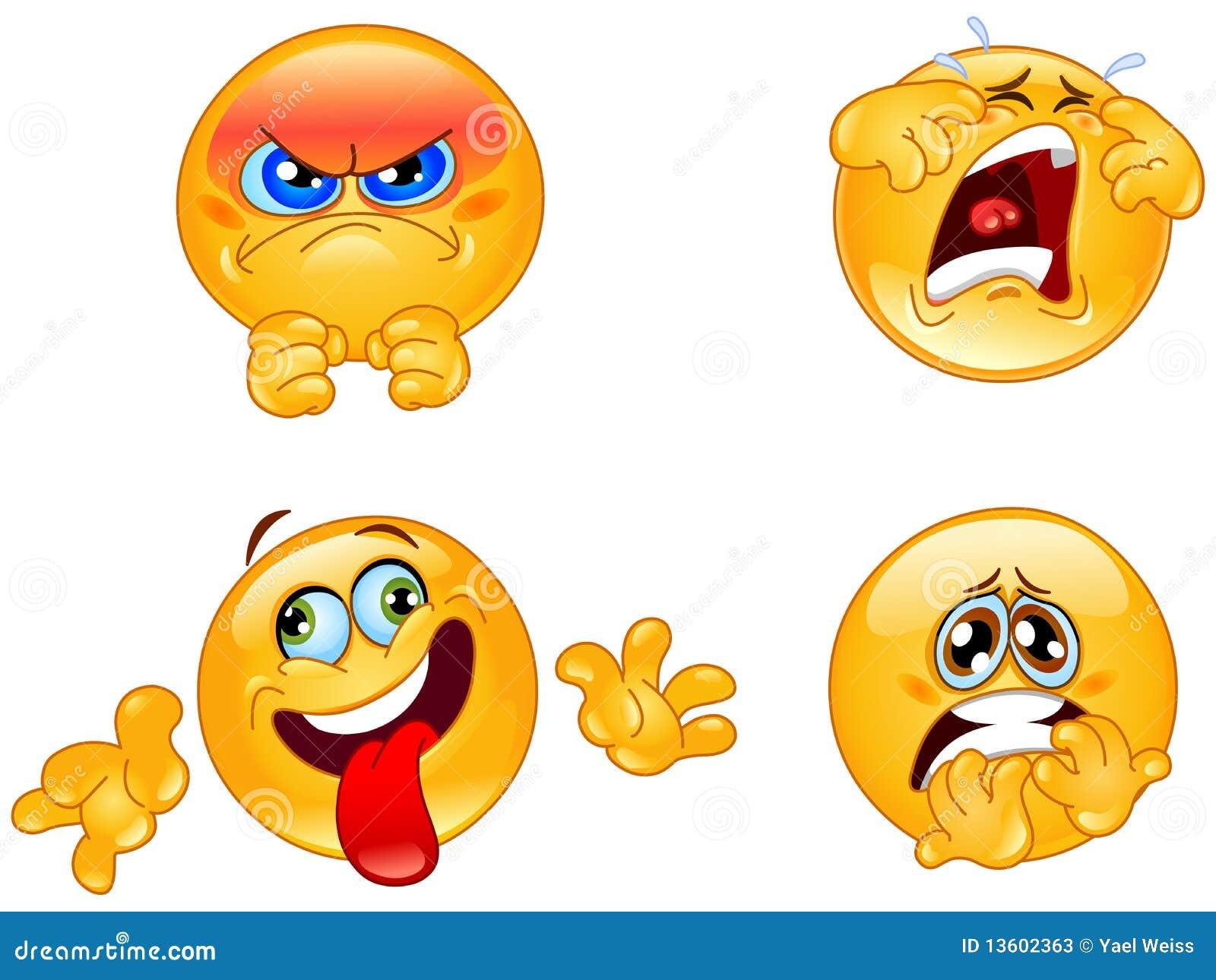 emoticons de las emociones ilustraci u00f3n del vector ilustraci u00f3n de alegre 13602363 vector facts for kids vector facebook