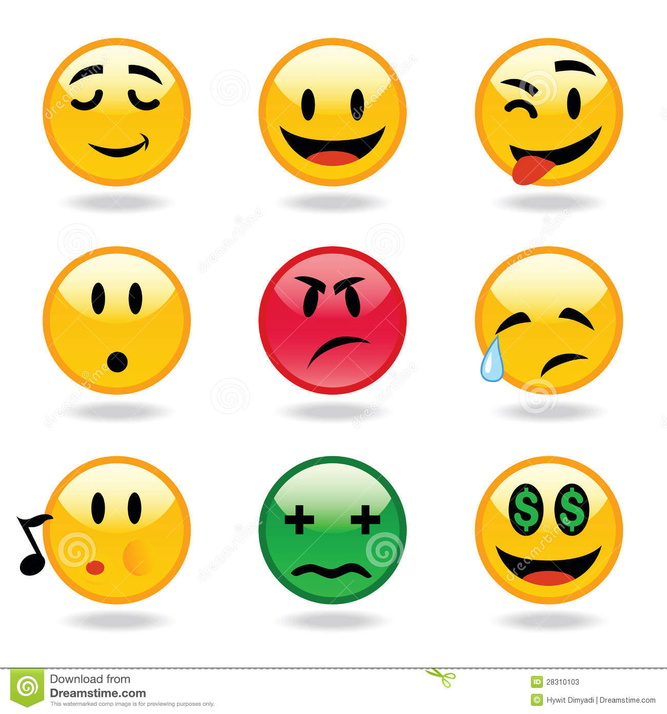 Emoticons expressions