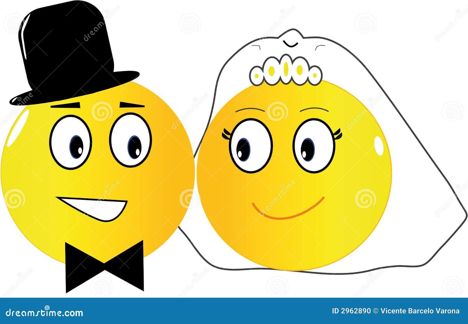 Emoticons Wedding Illyustraciya Vektora Illyustracii Naschityvayushej