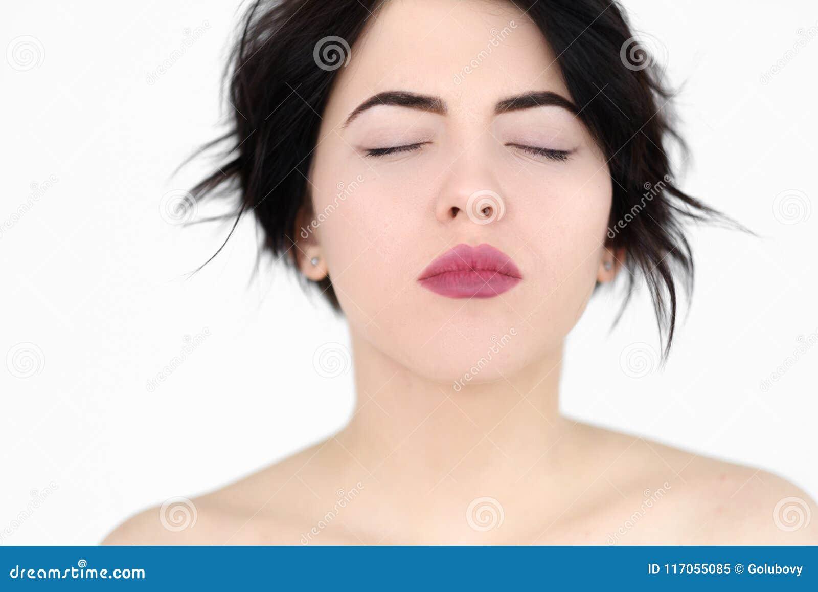 face Woman pleasure