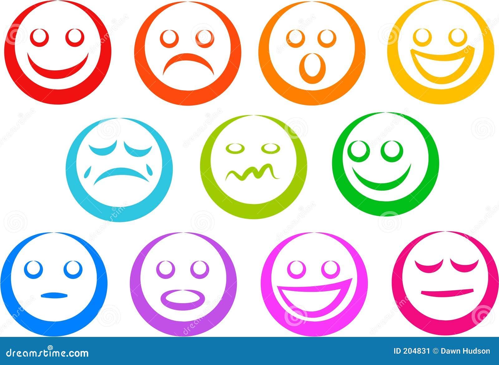 Emotion Icons emotion icons stock image - image: 204831