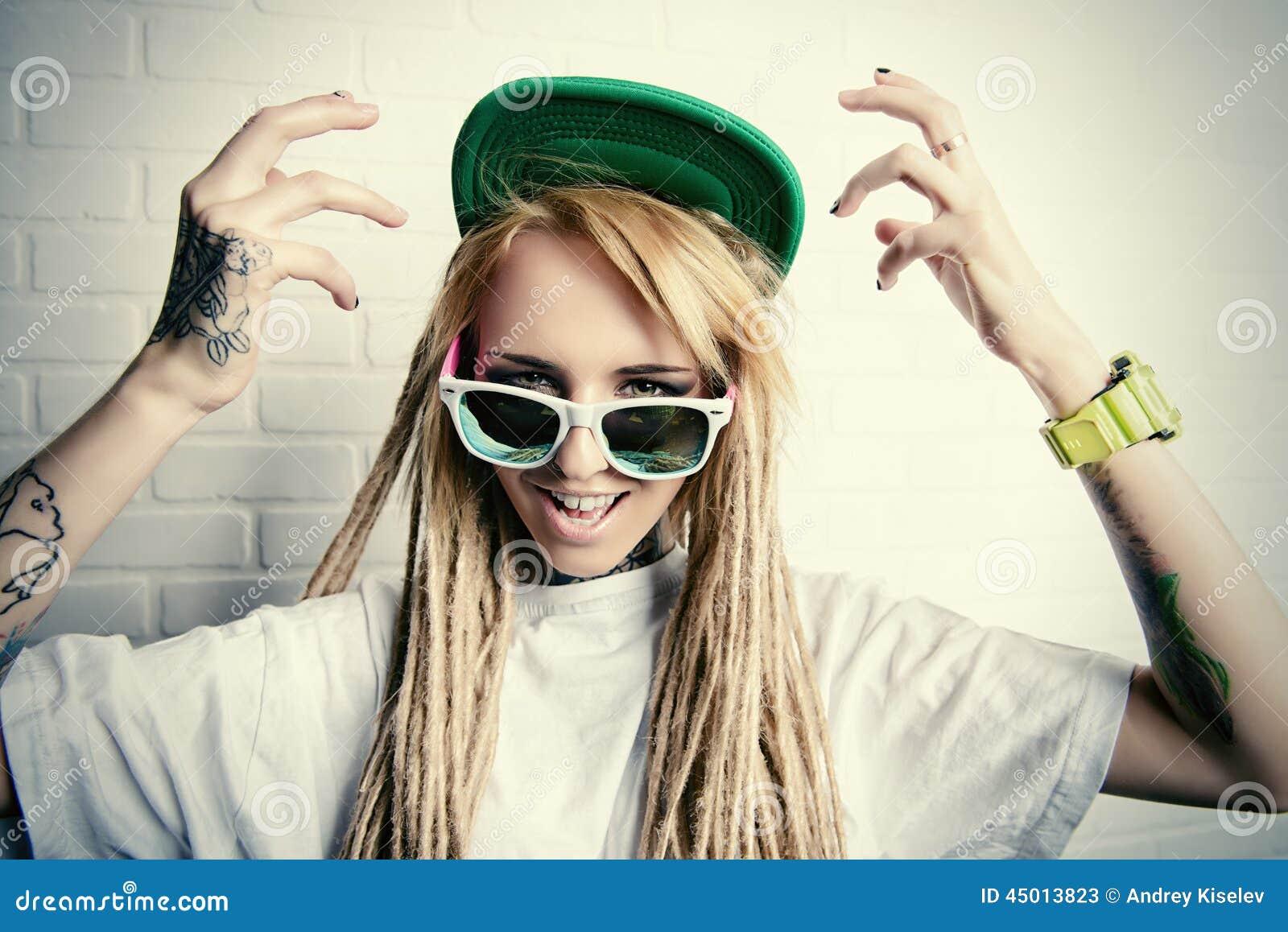 Emotion stock photo image 45013823 for Modern teenage girl