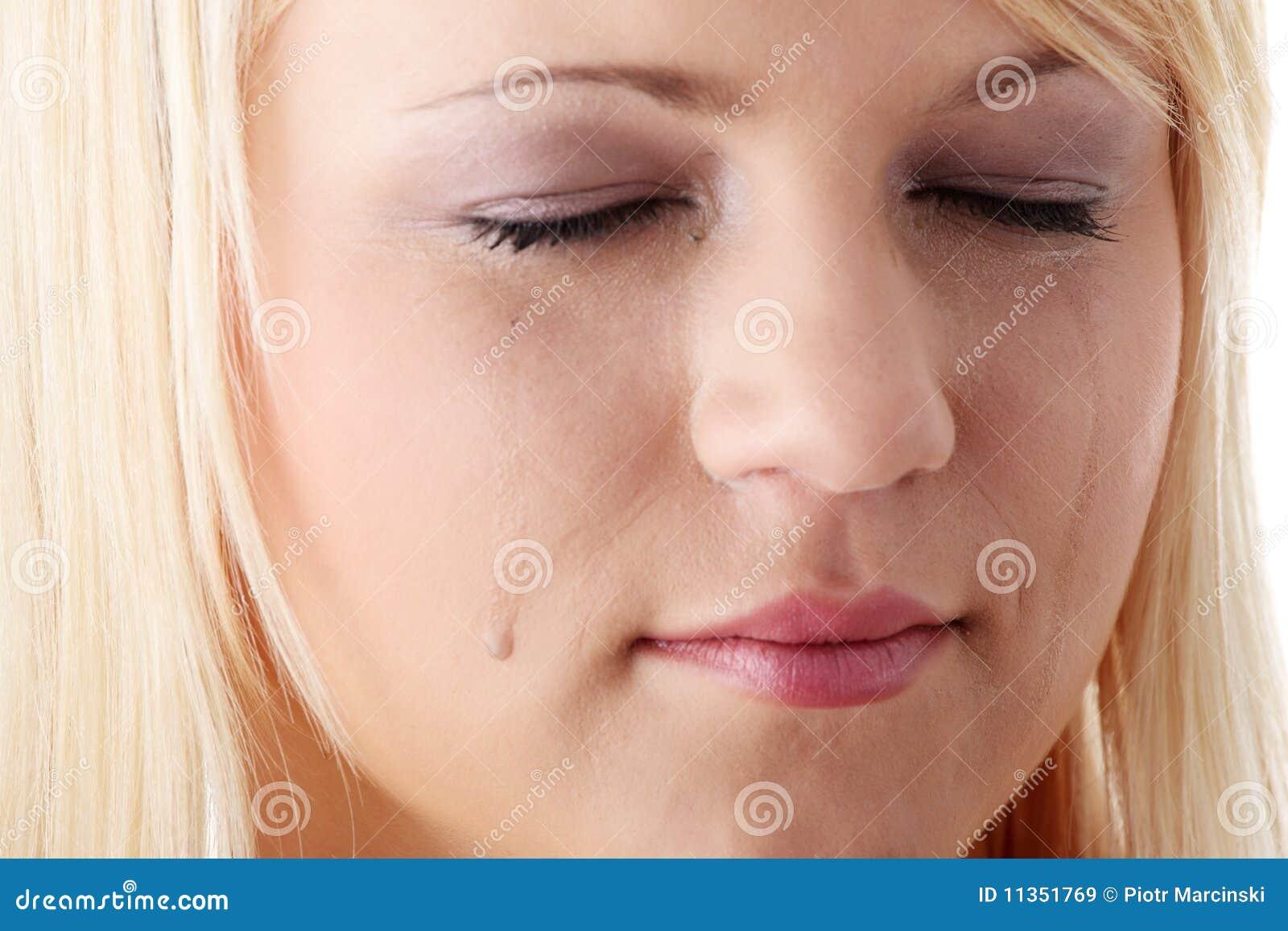 Facial quiver emotional pain