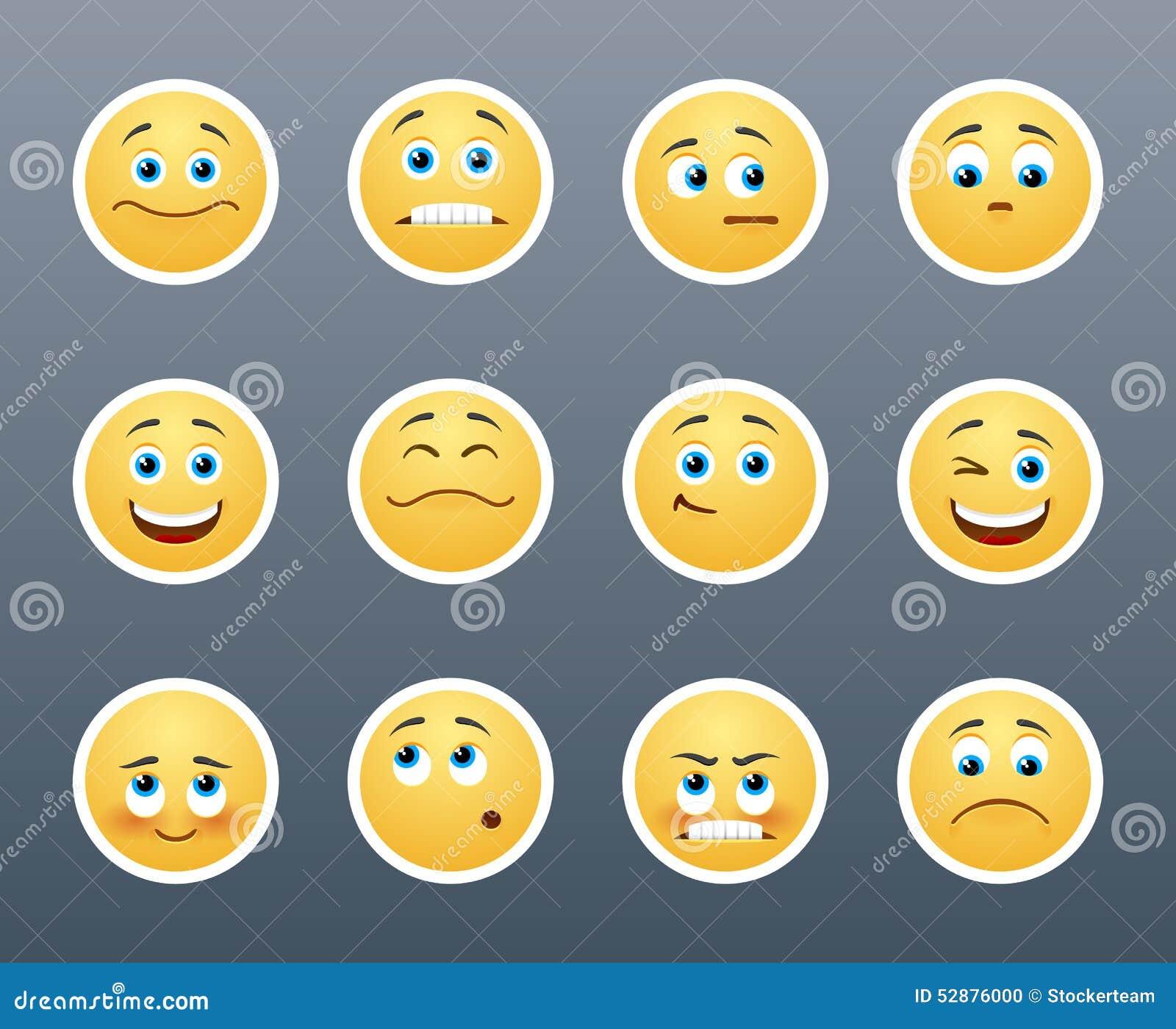Emotional Stickers Stock Illustration Of Emotion