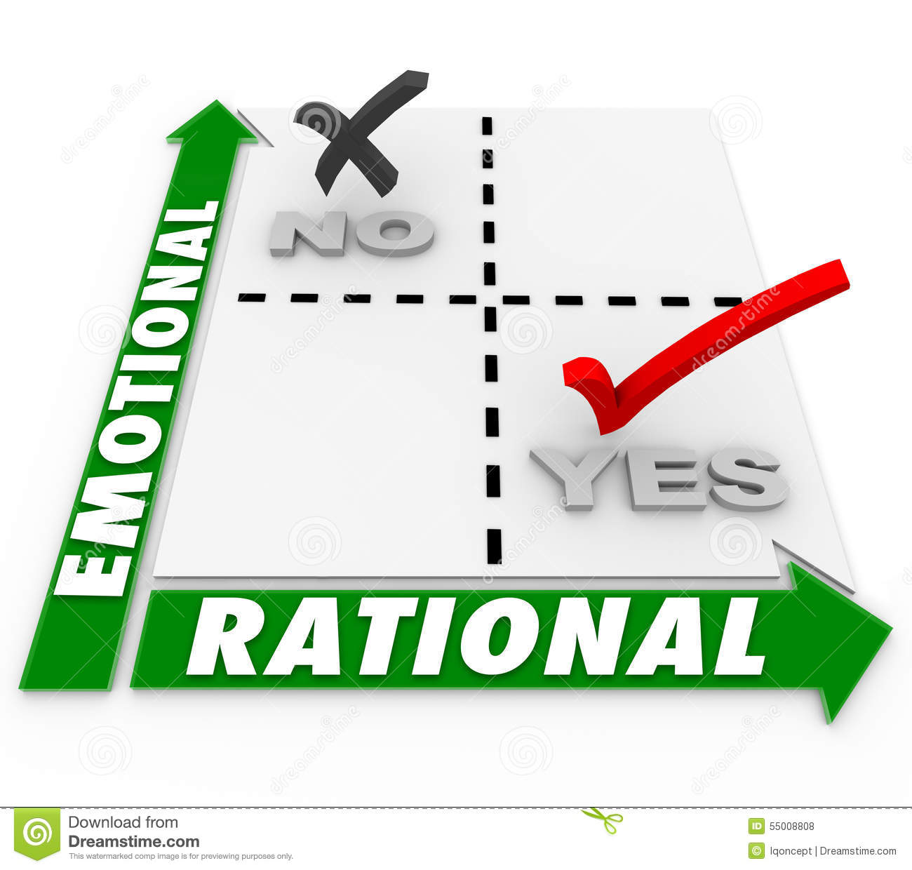 Mind and heart rational decisions emotions