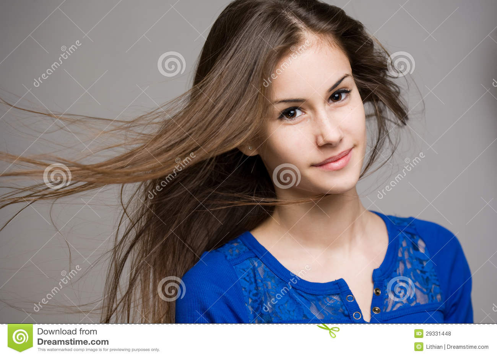brunette-teen