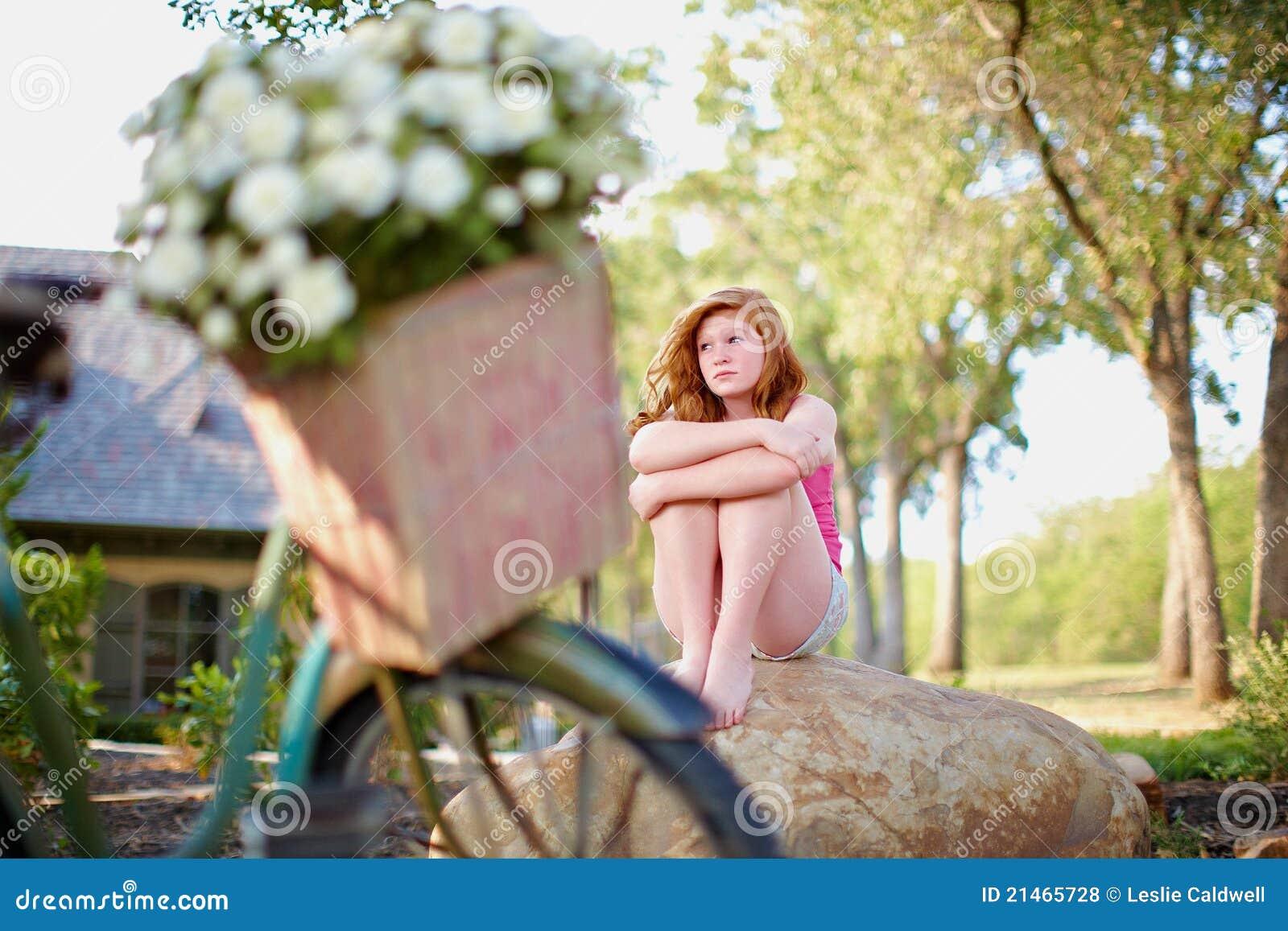 Emotionaler Jugendlicher