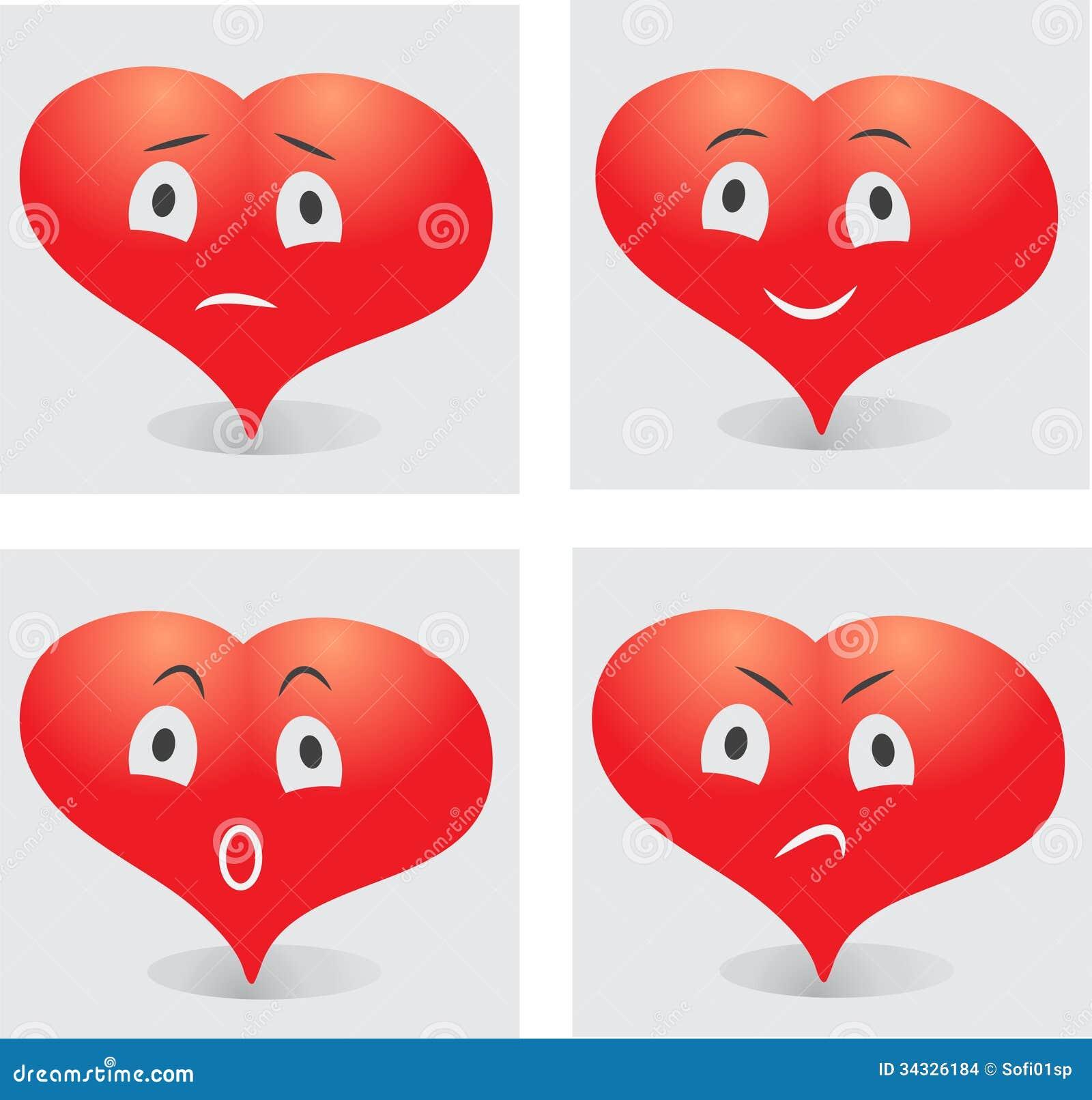 сердце смайлик: