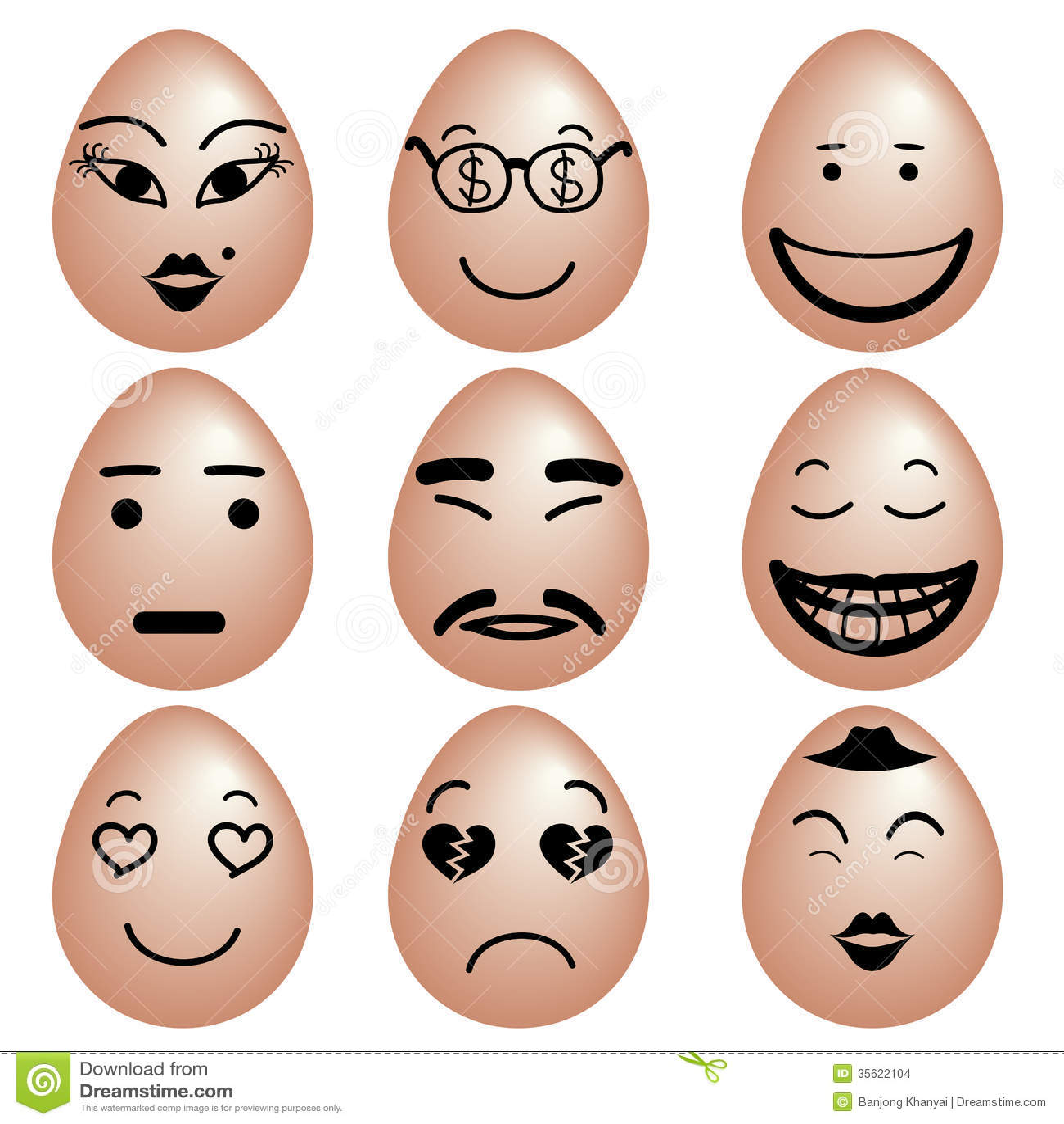 funny eggs emotion mood - photo #12