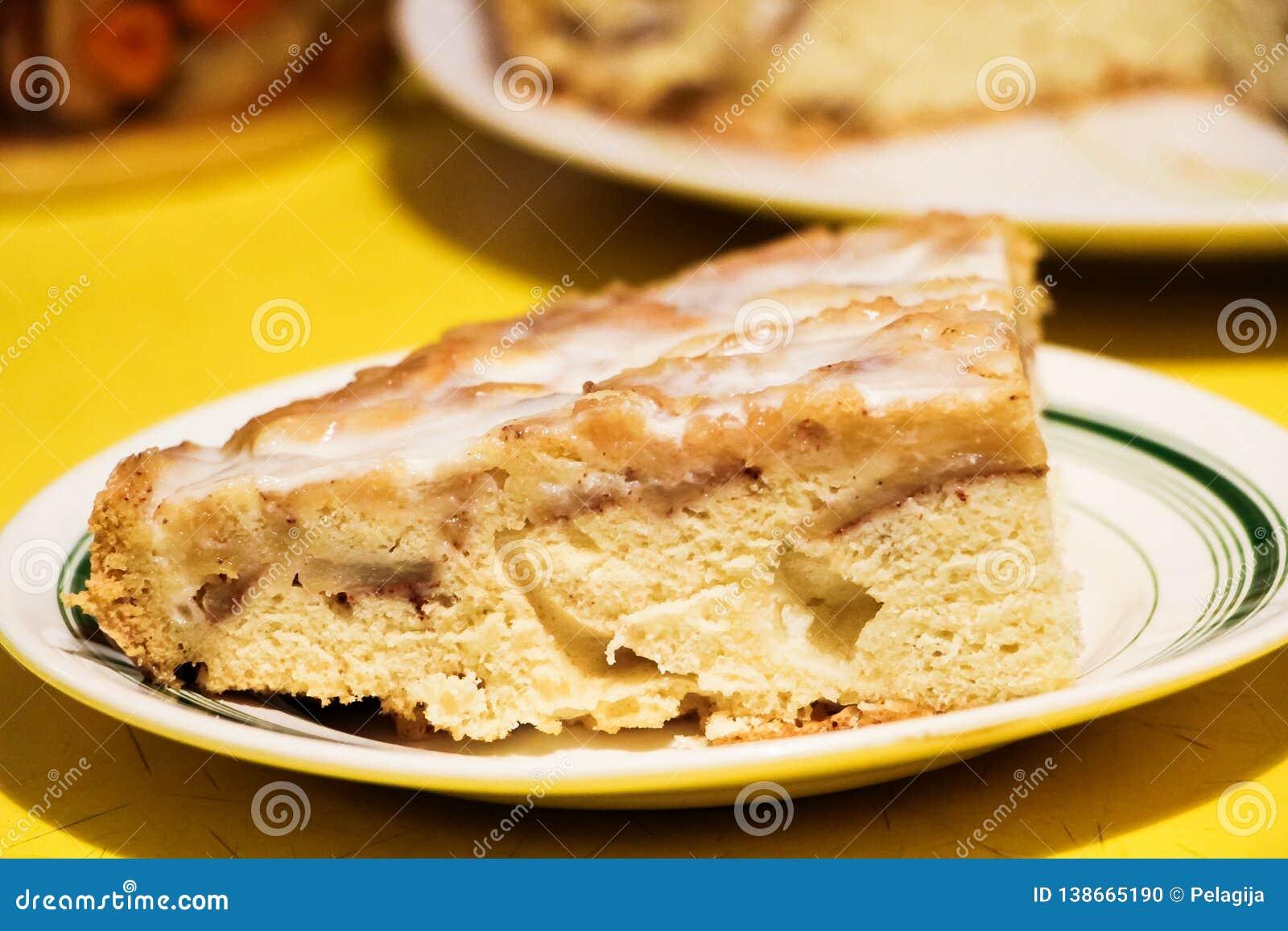 Empanada de Apple con crema amarga