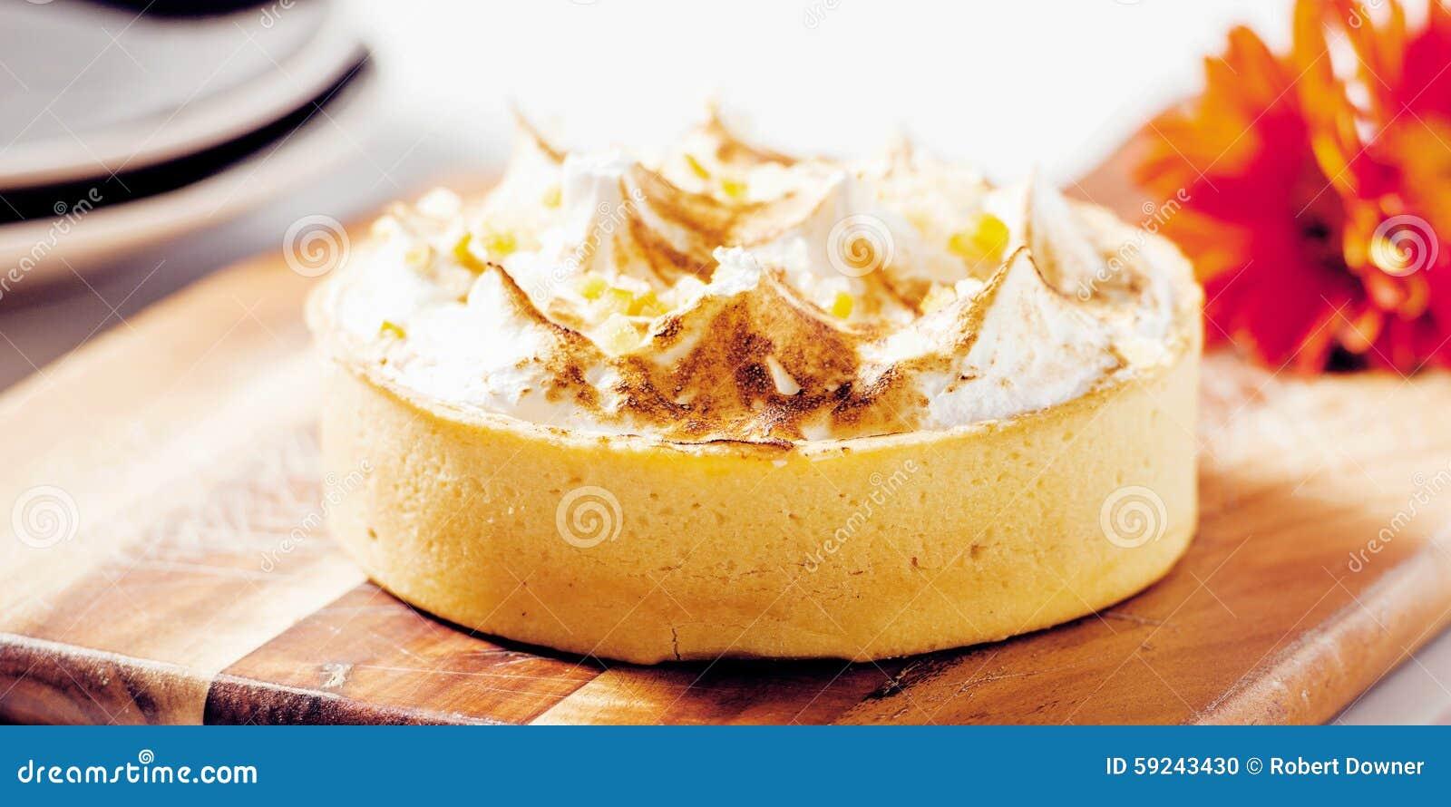 Download Empanada De Merengue De Limón Foto de archivo - Imagen de fruta, confitería: 59243430