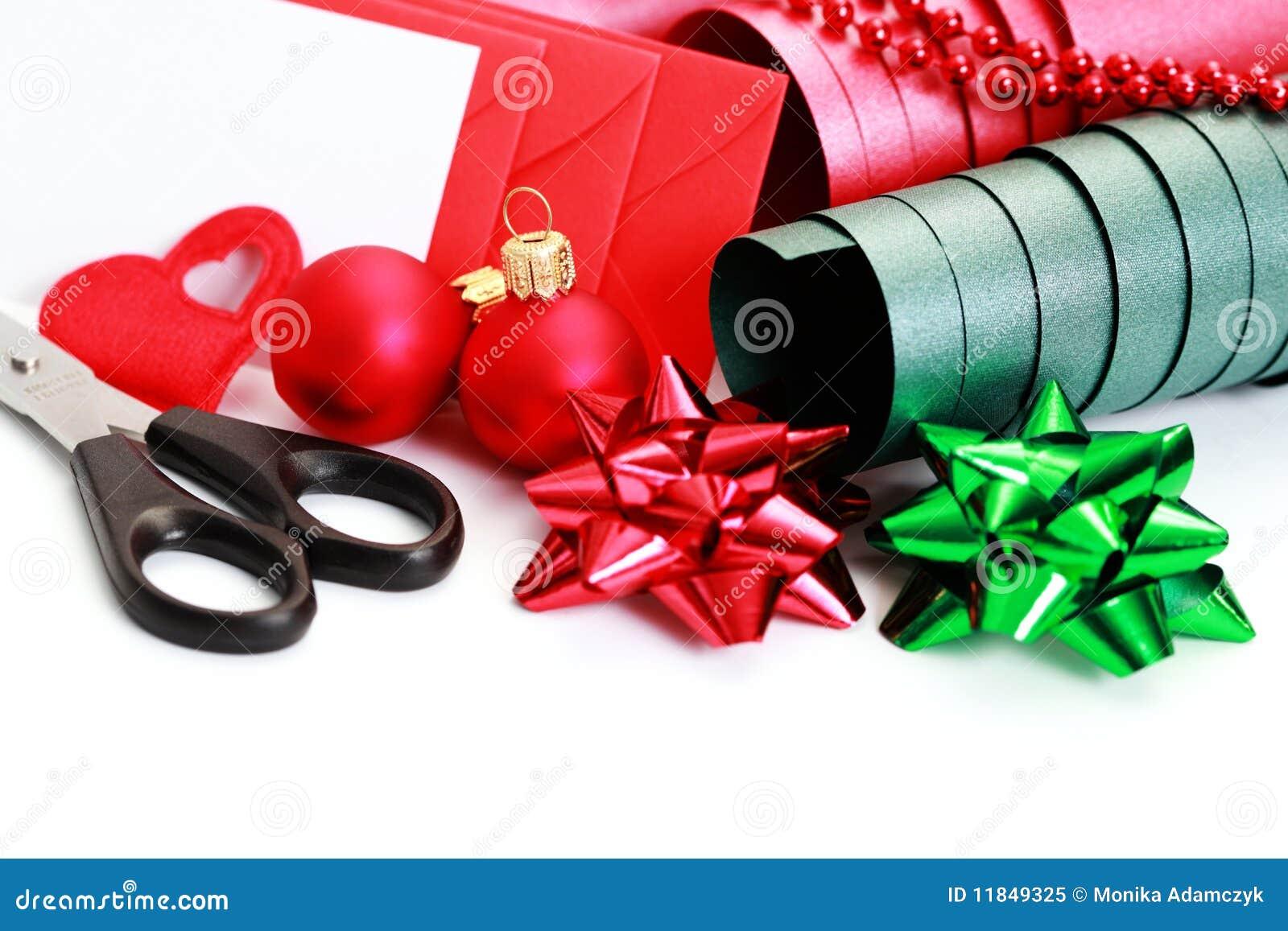 Empaquetado del regalo de la navidad foto de archivo libre - Empaquetado de regalos ...