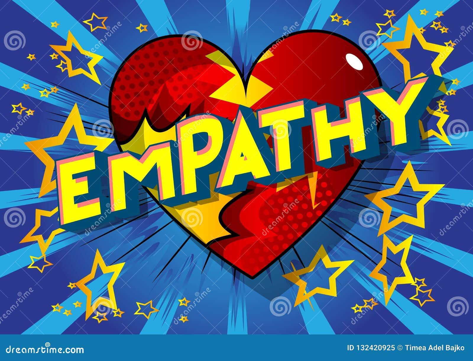 Empathie - Comic-Buch-Artwörter