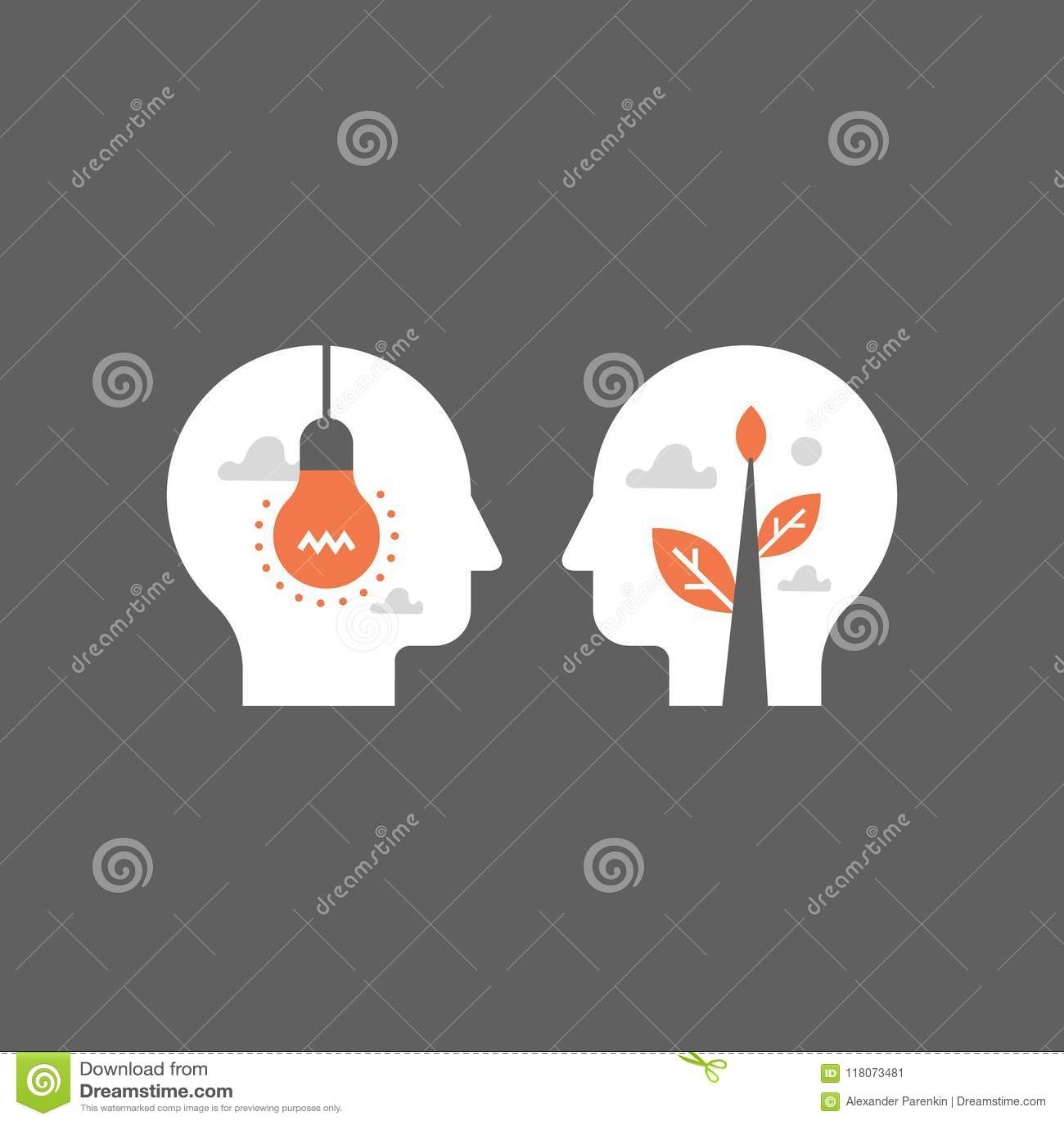 Empathie en mededeling, mentorshipconcept, onderhandeling en overtuiging, raakvlak, emotionele intelligentie