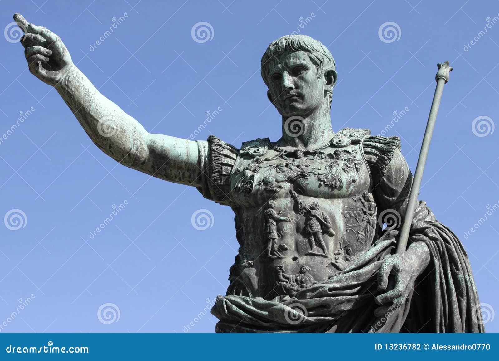 Empereur romain Augustus