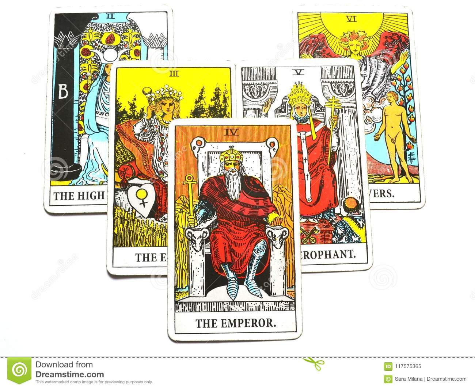 Card the emperor tarot The Emperor