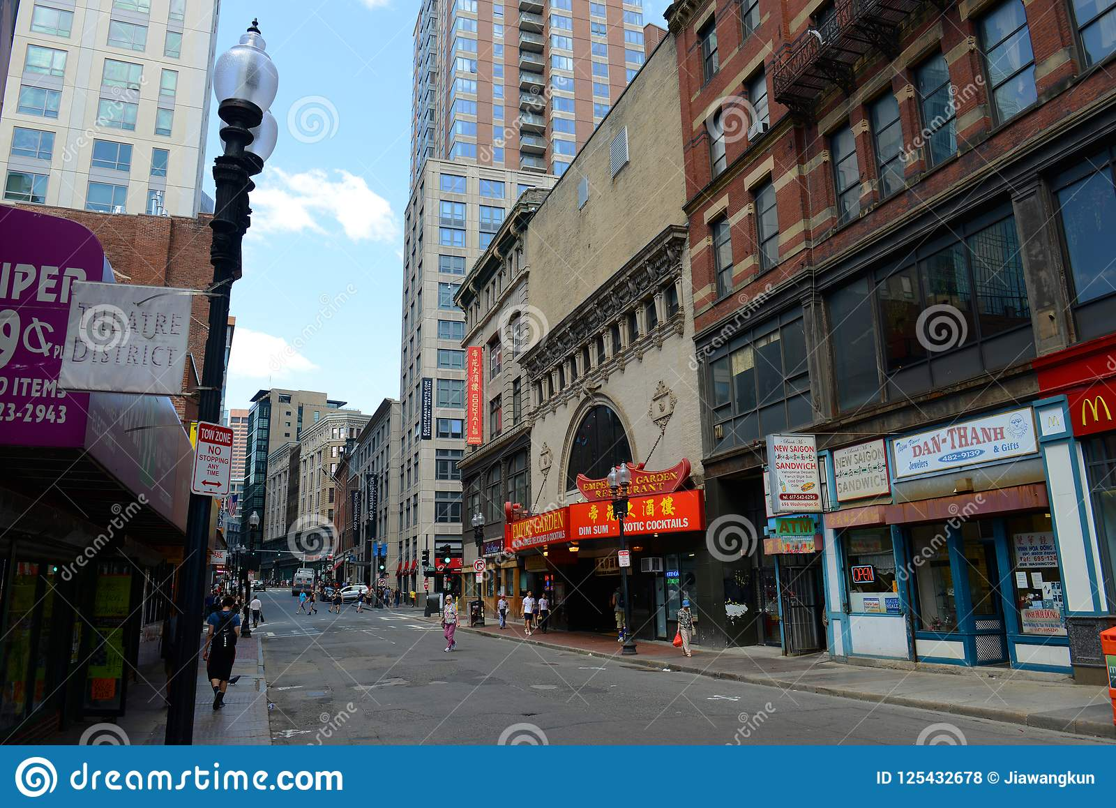 download empire garden restaurant in historic chinatown boston editorial stock photo image of globe - Empire Garden
