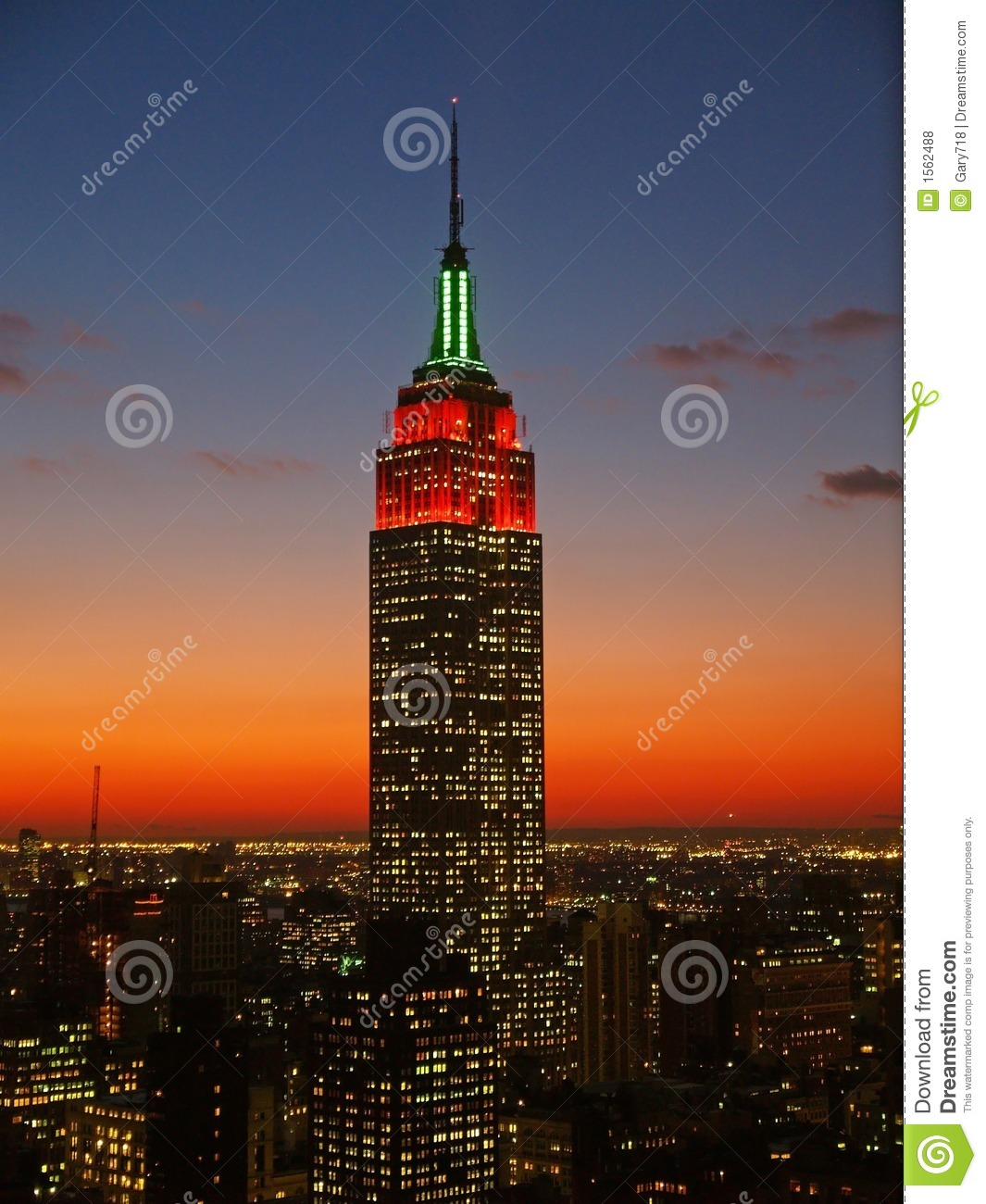 Empire State Building Editorial Stock Photo Image 1562488