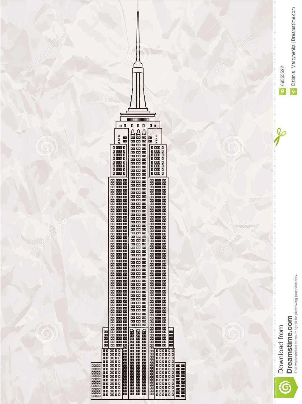 Empire State Building Free Vector