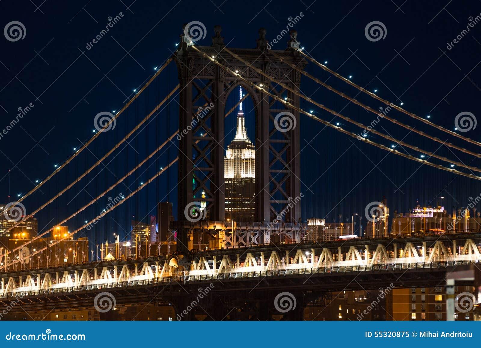 Quadro su tela manhattan bridge u pixers viviamo per il cambiamento
