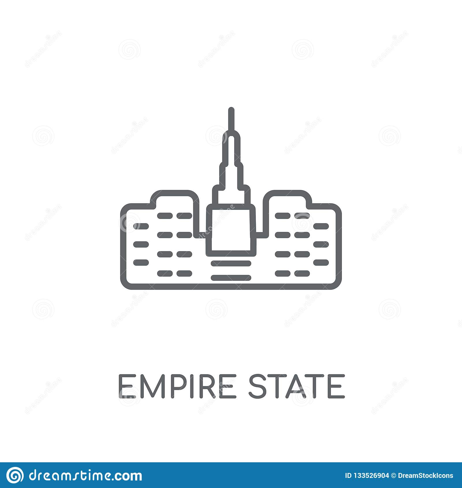 empire state outline