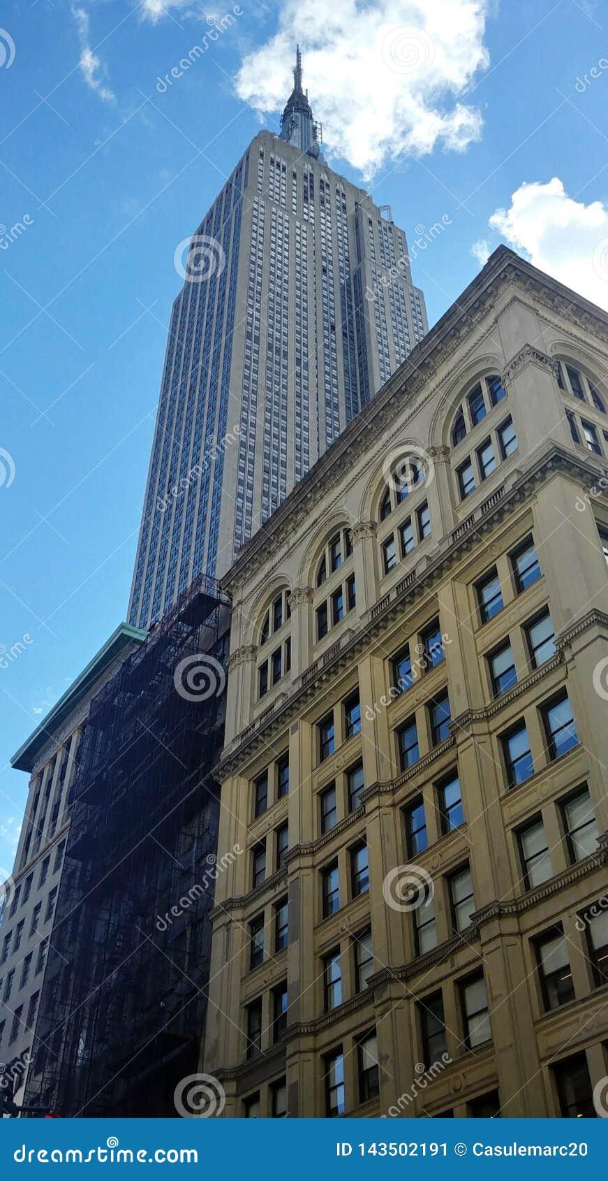 Empire State Building Manhattan, Miasto Nowy Jork