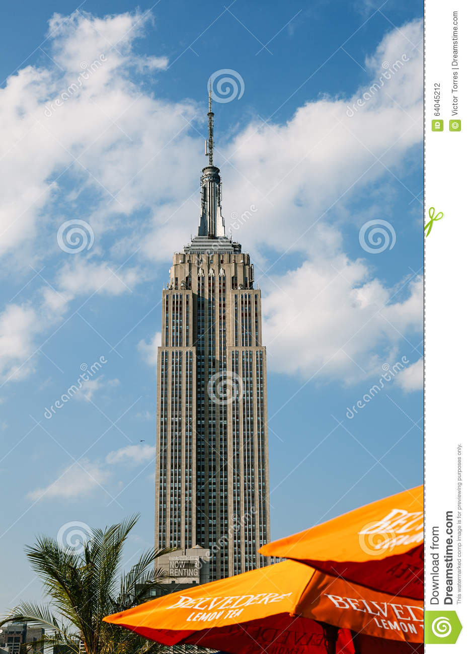 The empire state building new york city editorial for Iconic new york landmarks