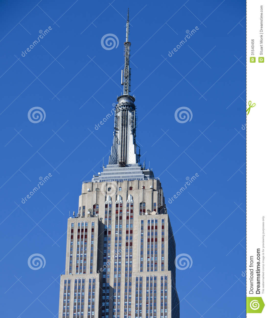 Empire state building editorial photo image 31540456 for Famous cities in new york