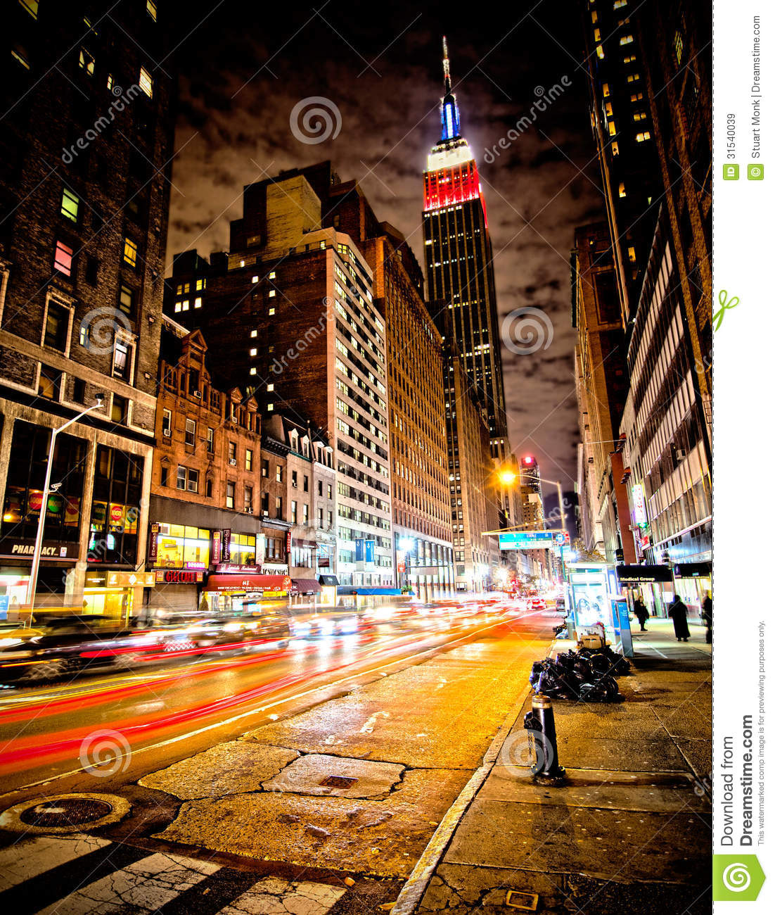 empire state building editorial stock image image 31540039