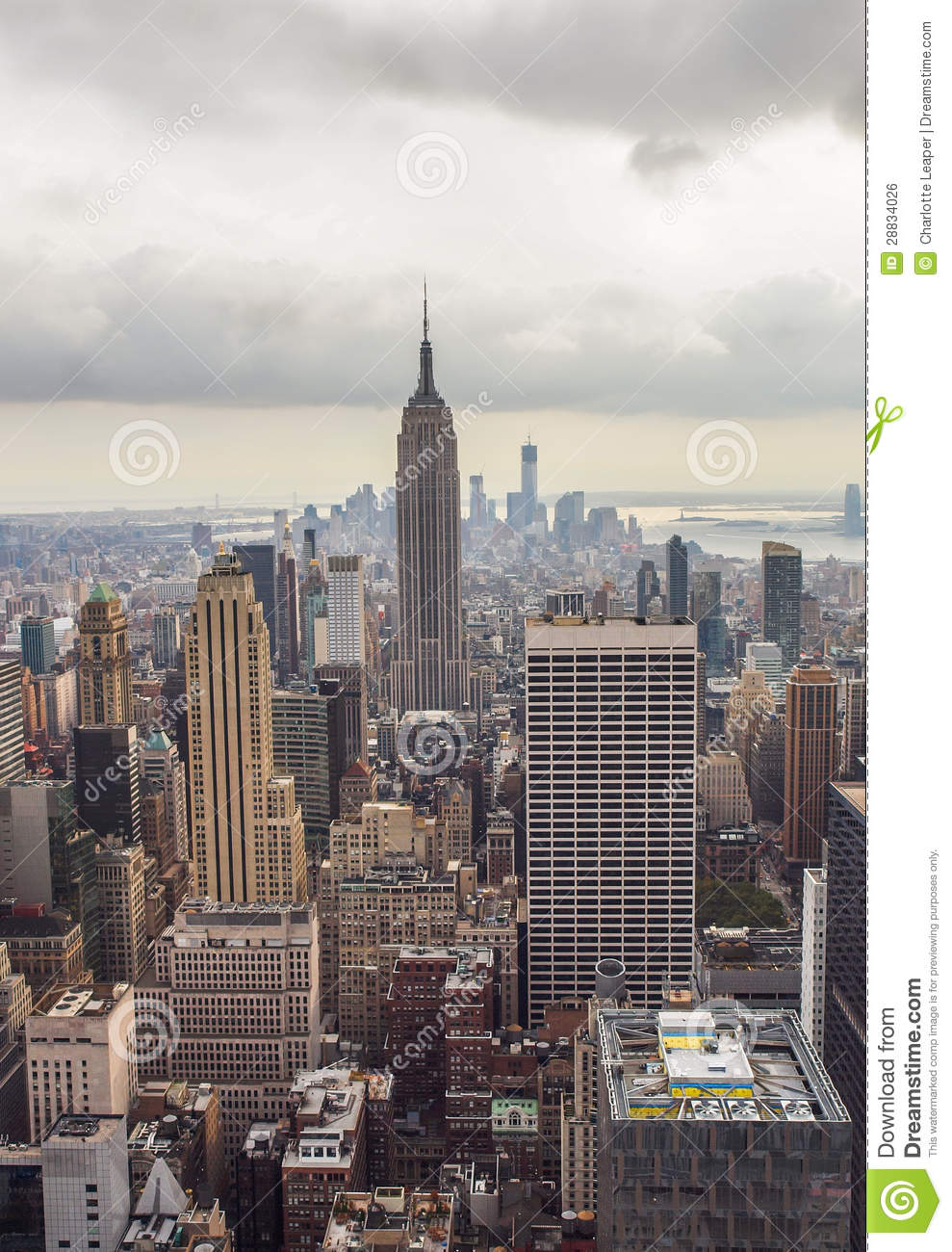 empire state building new york skyline stock photo image of state