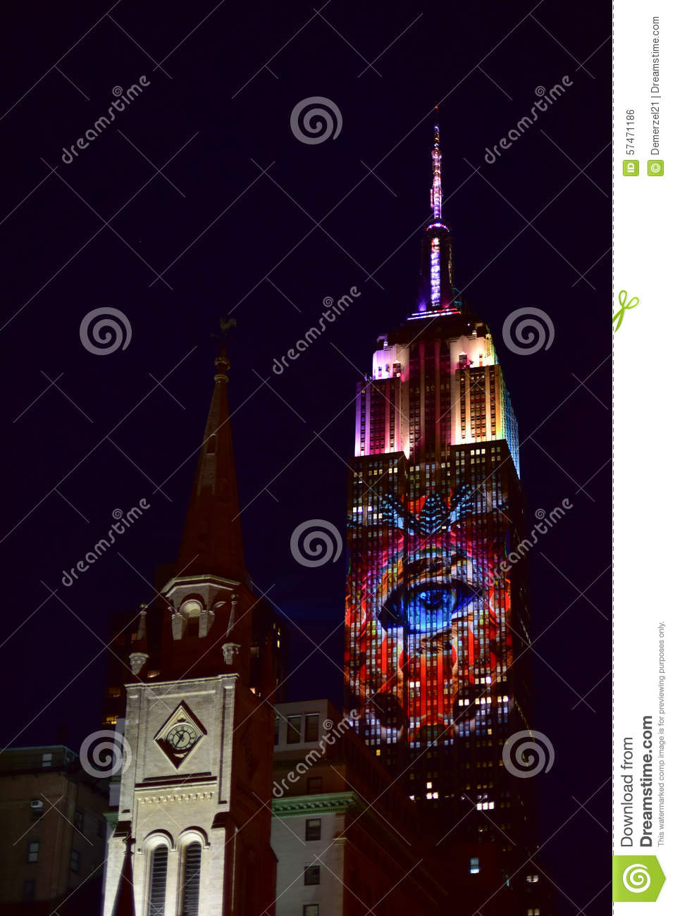 Empire State Building - Racing Extinction Editorial Photo ...