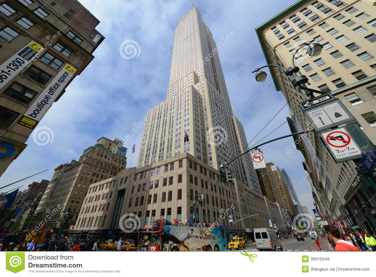 Image Result For New York Empire State Building Street View