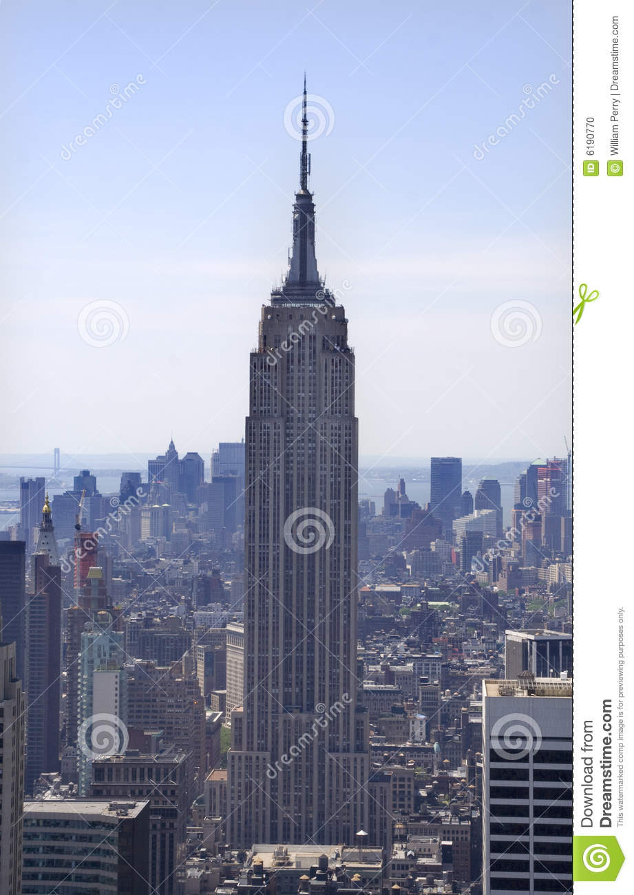 empire state building wolkenkratzer new york city redaktionelles bild bild 6190770. Black Bedroom Furniture Sets. Home Design Ideas