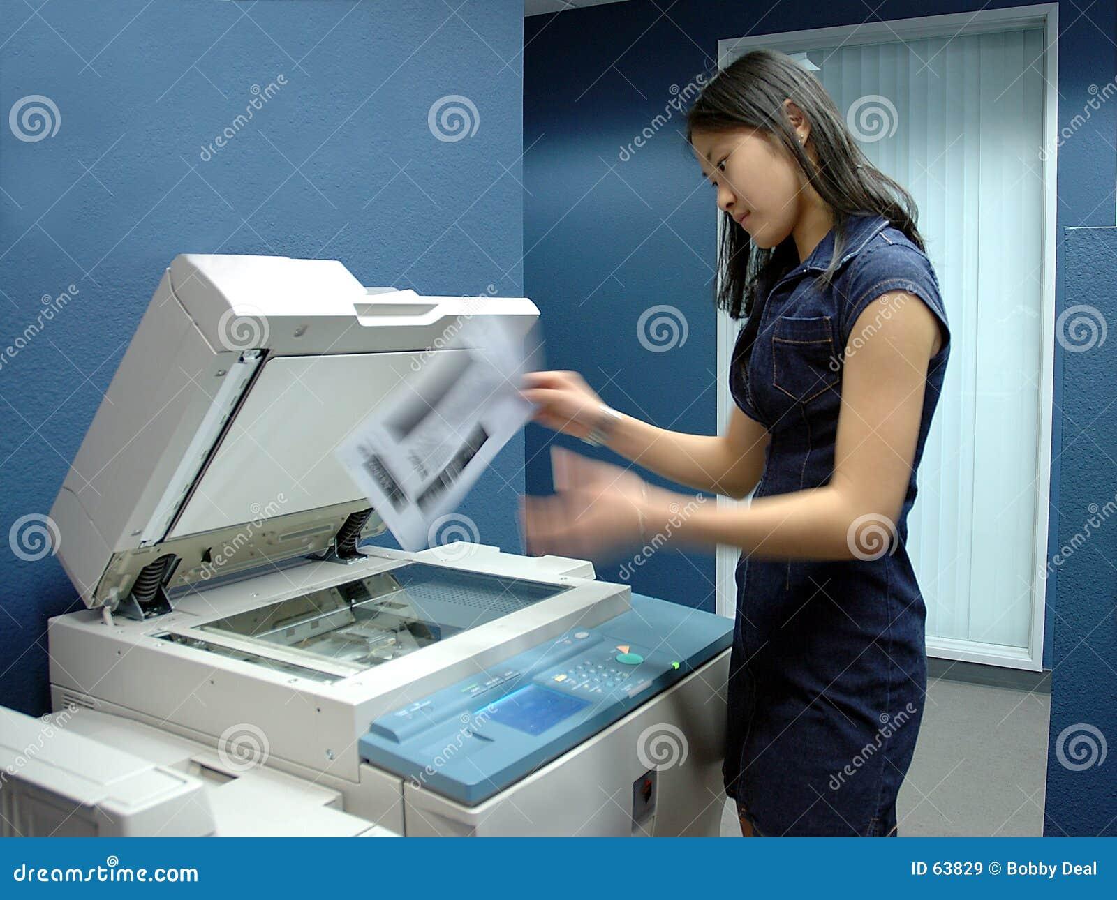 Download Employé de bureau image stock. Image du interne, ling, commis - 63829