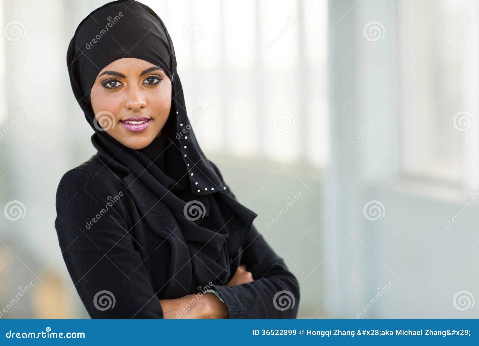 Employé de bureau arabe moderne