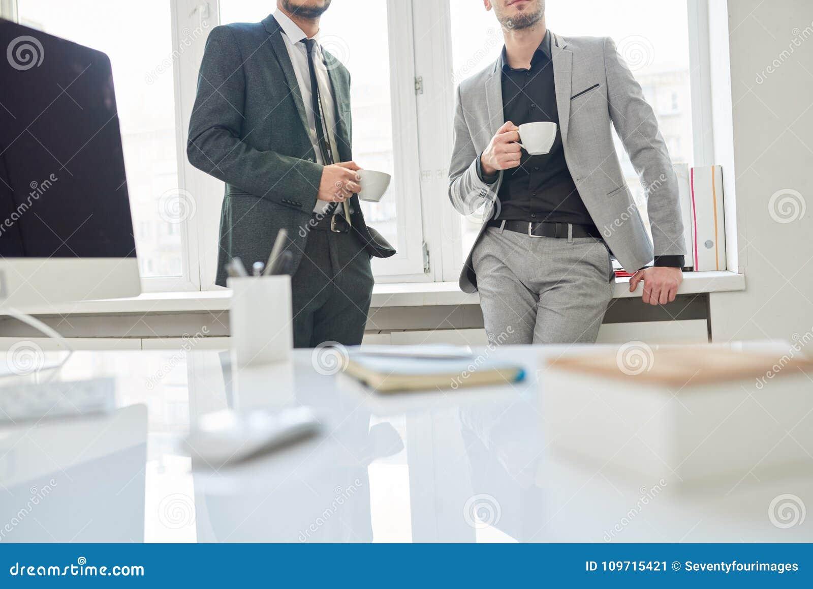 Employés sur la pause-café