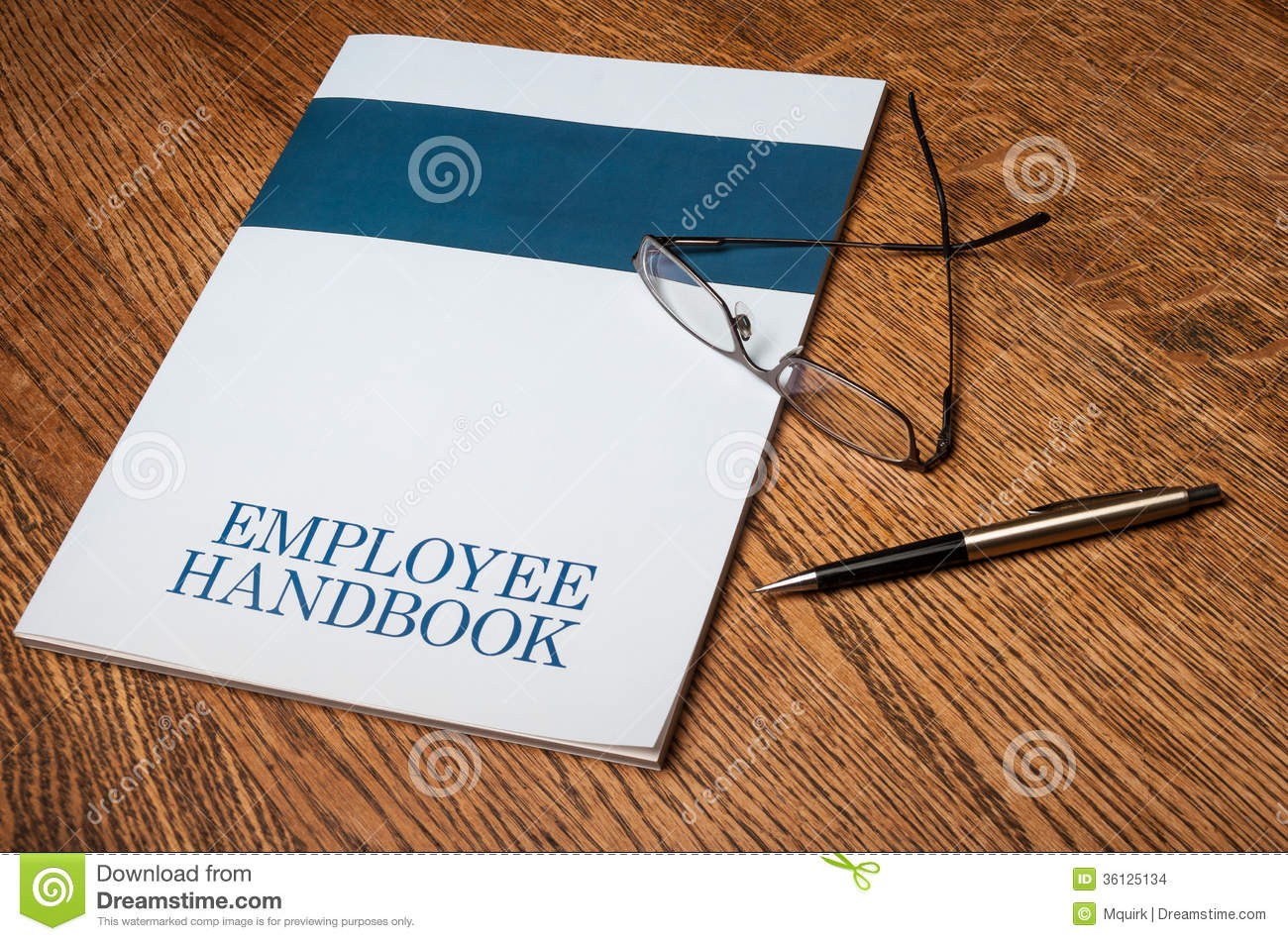 Employee handbook stock images image 36125134 for Employee handbook cover design template