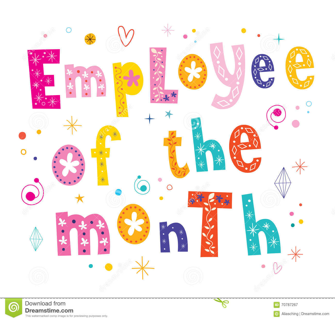 employee of the month templates free