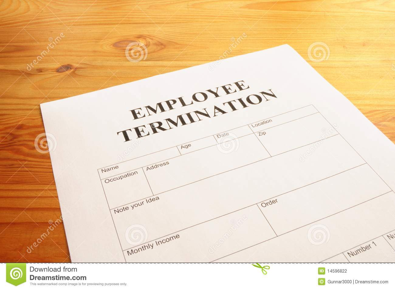 Incentive stock options termination of employment