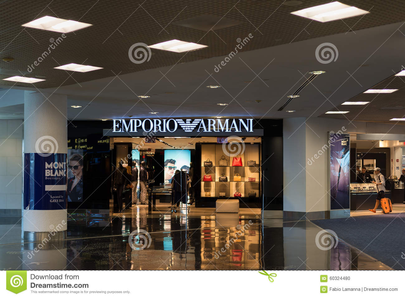 Emporio armani store at miami international airport for Armadi outlet
